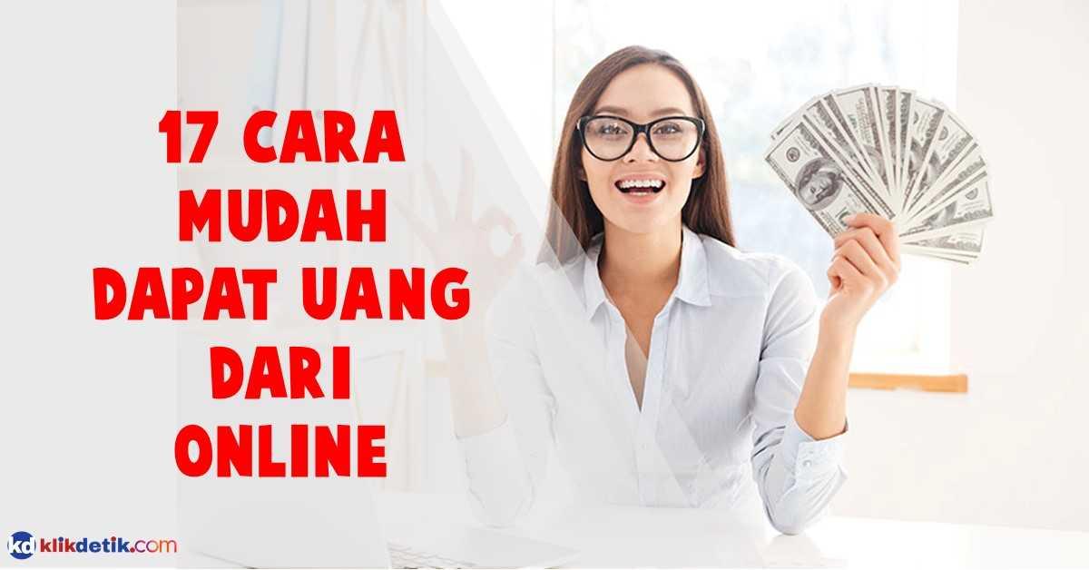 Ilustrasi cara dapat uang online
