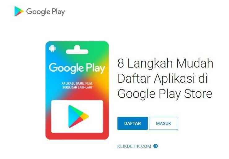Membuat membuat aplikasi di Google Playstore
