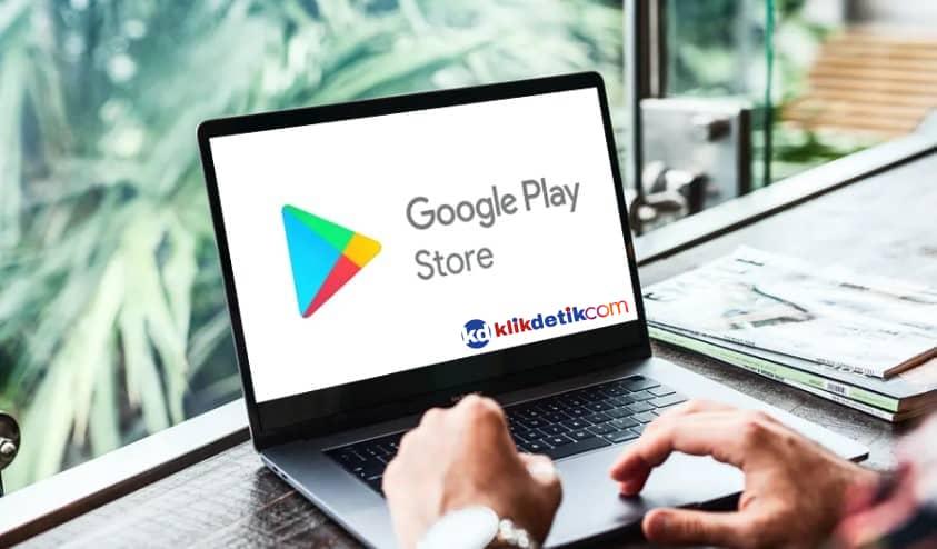 cara download google playstore di laptop