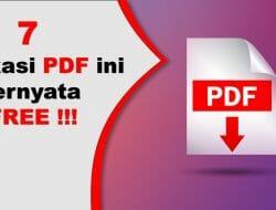 Aplikasi PDF Terbaik yang Patut Anda Coba