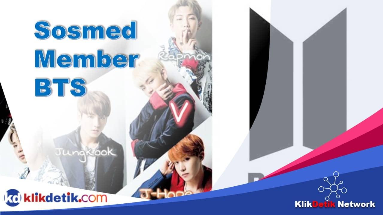 sosmed member BTS